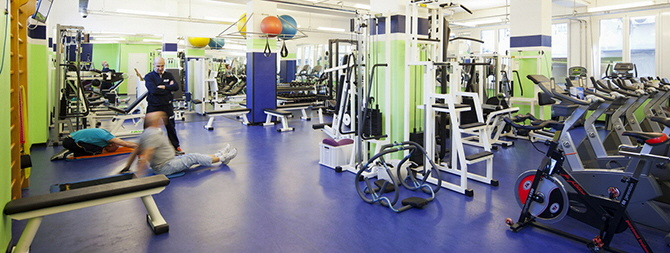 personal training in sala alla icos
