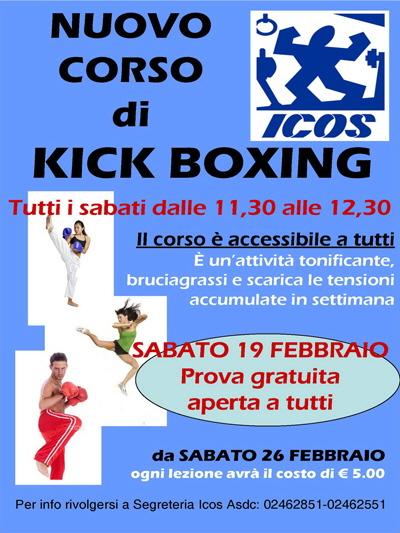 Nuovo Corso Di Kick Boxing Palestra Icos
