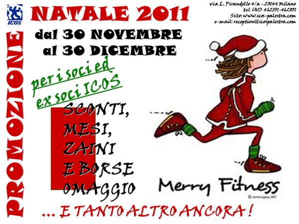 Promozione Natale 2011 Palestra Icos