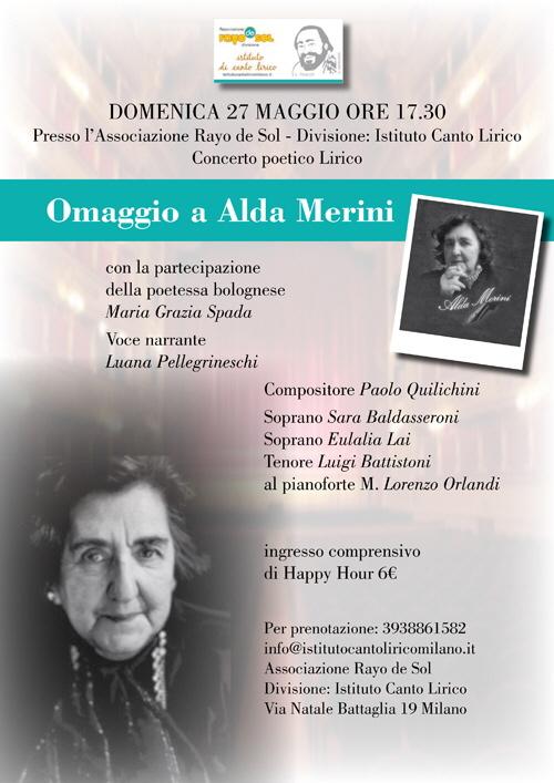 Omaggio ad Alda Merini