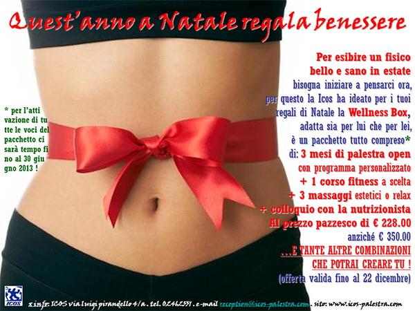Wellness Box Icos A Natale Regala Benessere Palestra Icos