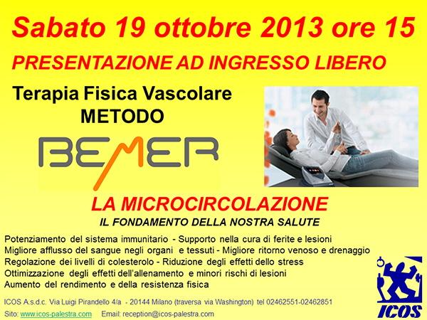 Presentazione metodo Bemer