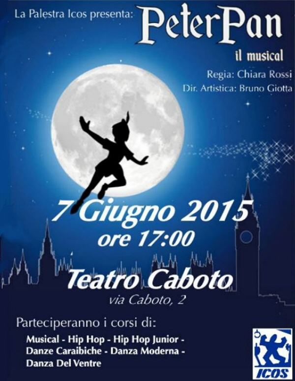 Saggio ICOS 2015 - Peter-Pan il musical