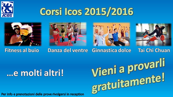 Corsi Icos 2015 Palestra Icos