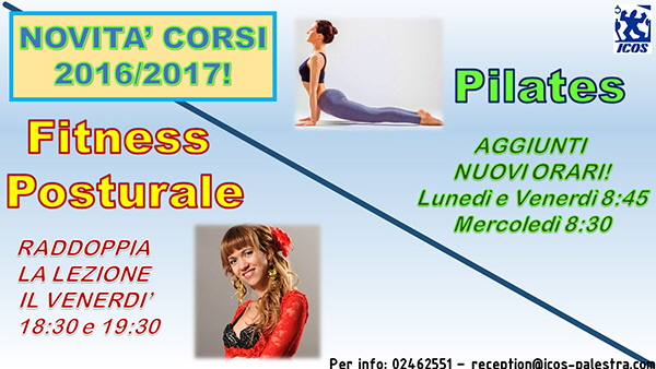 Pilates e Fitness posturale - 2016
